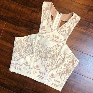 Nude Festival Beach CHIC Criss Cross Shirt Top